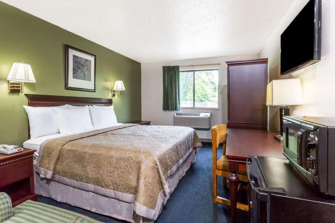 維珍尼亞漢普頓速 8 酒店 - 漢普敦 - 漢普頓(弗吉尼亞州) - 臥室