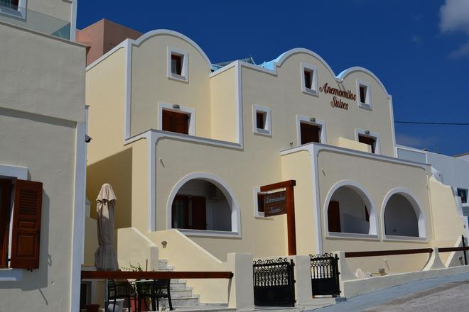 Anemomilos Suites - Thera - Toà nhà