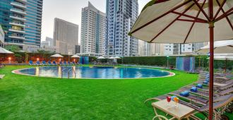 Marina View Hotel Apartments - Dubaï - Piscine