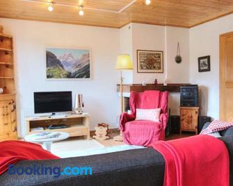 Appartement Le Roc - Rougemont - Huiskamer