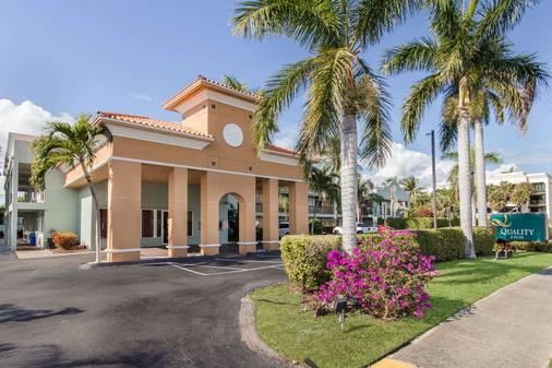 Quality Inn - Boca Raton - Building