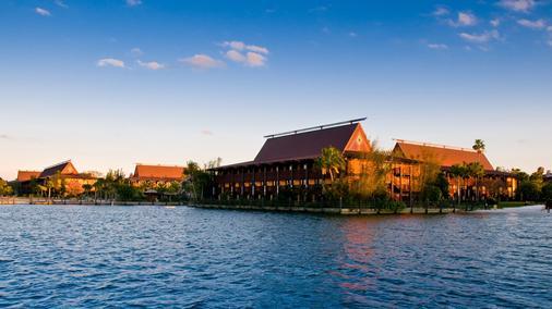迪士尼波利尼西亞村度假酒店 - 萊克布埃納維斯塔 - 博偉湖 - 室外景