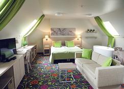 シティ ホテルズ ルドニンカイ - ビリニュス - 寝室