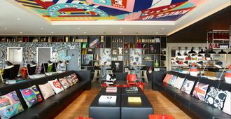 citizenM London Shoreditch - Londra - Area lounge