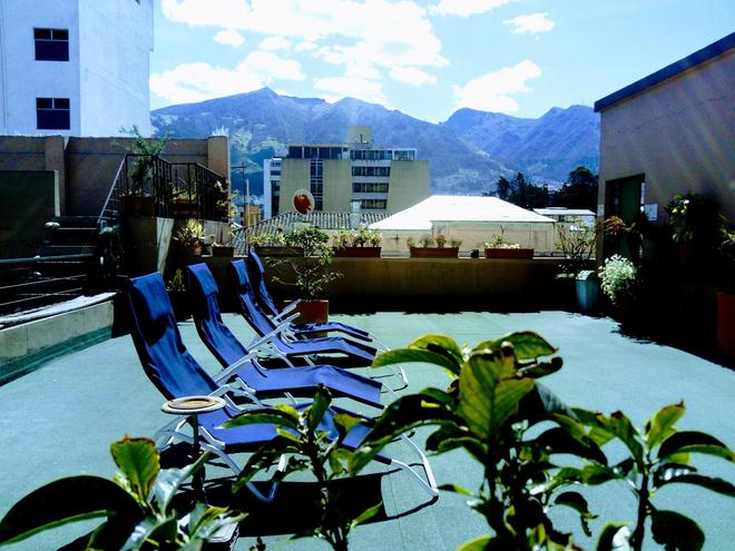 Jhomana Guesthouse - Quito - Rooftop