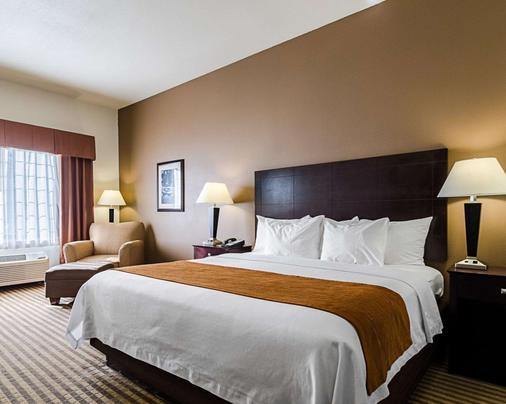 Comfort Inn & Suites Lawrence - University Area - Lawrence - Makuuhuone