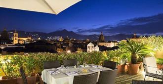 Ambasciatori Hotel - פאלרמו - מרפסת