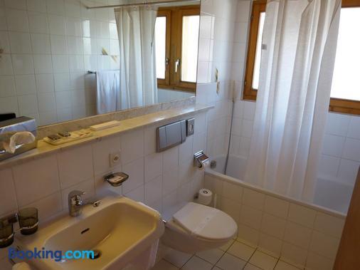 Hotel Ermitage - Bagnes - Bathroom