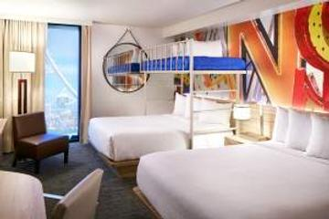 The LINQ Hotel & Casino - Las Vegas - Bedroom