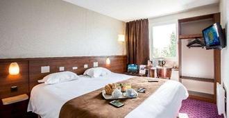 Brit Hotel Rennes Le Castel - Ренн - Спальня