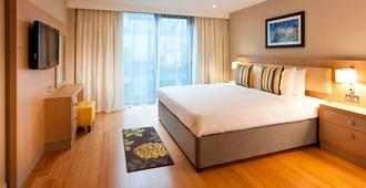 Residence Inn by Marriott Edinburgh - Edinburg - Slaapkamer