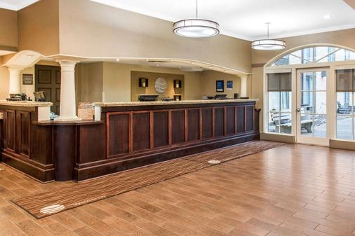 Comfort Inn Msp Airport - Mall Of America - Bloomington - Front desk