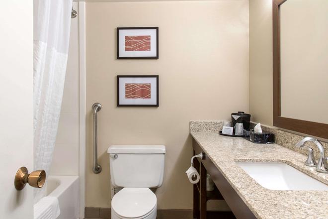 美國機場購物中心凱富酒店 - 布隆明頓 - 布盧明頓 - 浴室