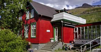 Hafaldan HI hostel old hospital building - Seydisfjordur