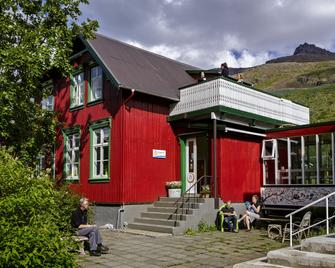 Hafaldan Hi Hostel - Old Hospital Building - Seydisfjordur - Building