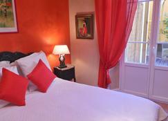 Hotel Le Relais Du Postillon - Antibes - Slaapkamer