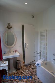 Chambres d'Hôtes Les Pratges - Figeac - Bathroom