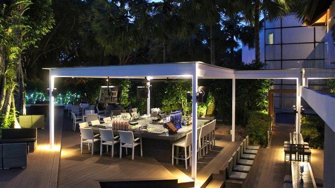 聖淘沙安曼納 聖殿度假酒店 - 新加坡 - 酒吧