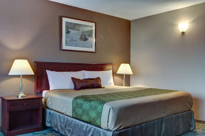 Knights Inn Kamloops - Kamloops - Schlafzimmer