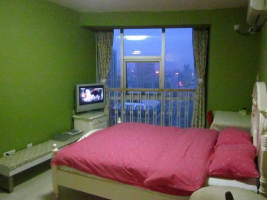 南京365酒店公寓(新街口城開國際店) - 南京 - 臥室