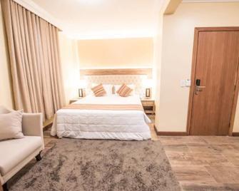 Hotel Alles Blau - Пелотас - Спальня