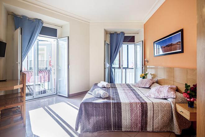 Hostal Inter Puerta Del Sol - Madrid - Bedroom