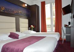 巴黎公園酒店 - 巴黎 - 巴黎 - 臥室