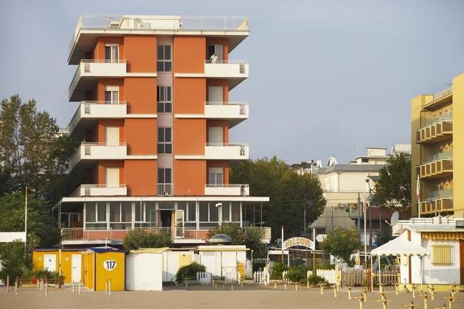 Hotel Nelson - Rimini - Gebäude