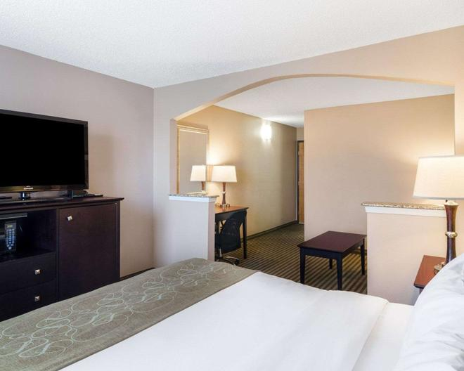 Comfort Suites Las Colinas Center - Irving - Bedroom