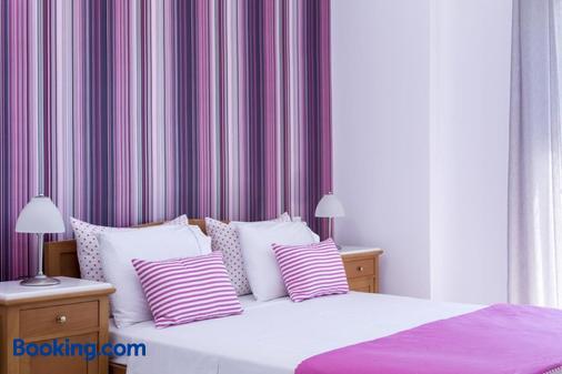 サンテリーニ ホテル - カマリ - 寝室