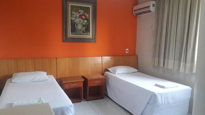 Athenas Plaza Hotel - Goiânia - Bedroom