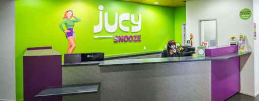 Jucy Snooze - Auckland - Reception