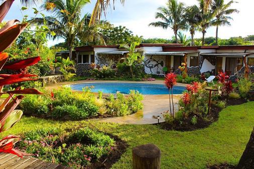 戈梅羅酒店 - 漢格羅阿 - 游泳池