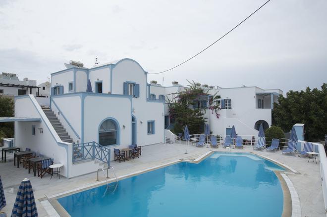 普萊卡瑪麗亞酒店 - 聖托里尼 - 卡馬利 - 游泳池