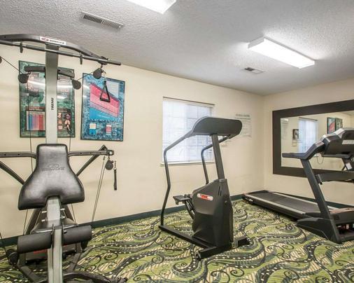 郊區長住酒店 (Columbia - Hwy 63 & I-70) - 哥倫比亞 - 哥倫比亞 - 健身房