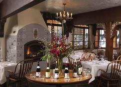 Alpenhof Lodge - Teton Village - Restaurante