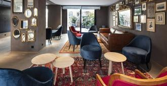 Hotel Lausanne by Fassbind - Lausana - Lounge