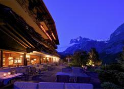 Hotel Kirchbuehl Superior - Grindelwald - Patio