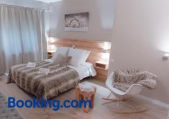 Hotel Les Flocons - Les Deux-Alpes - Bedroom