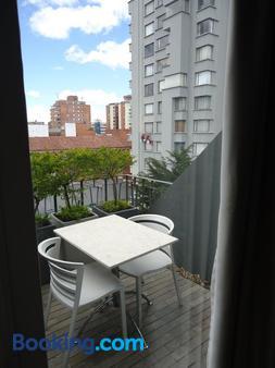 The Grace Hotel - Bogotá - Balcony