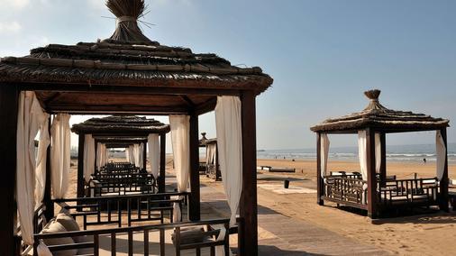 索菲特阿加迪爾塔拉索海濱溫泉酒店 - 阿加迪爾 - 阿加迪爾 - 海灘