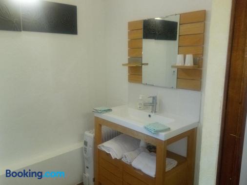 La Ferme de Bout de la Ville - Criquebeuf-en-Caux - Bathroom