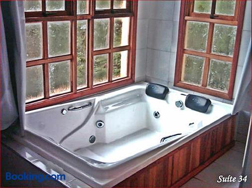 高山別墅旅館 - 坎普斯杜若爾當 - 坎波斯杜若爾當 - 浴室