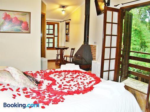 高山別墅旅館 - 坎普斯杜若爾當 - 坎波斯杜若爾當 - 臥室