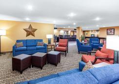 Comfort Inn Wichita Falls North - Wichita Falls - Sala de estar