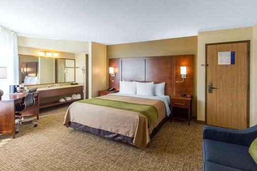 Comfort Inn Wichita Falls - Wichita Falls - Phòng ngủ