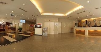 The Klagan Hotel - Kota Kinabalu - Front desk