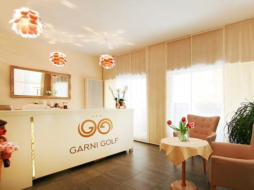 Hotel Garni Golf - Ascona - Rezeption
