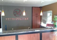 The Metropolitan Inn - Salt Lake City - Vastaanotto