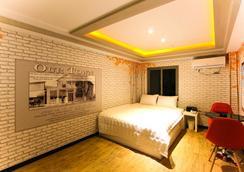 M2汽車旅館 - 釜山 - 臥室